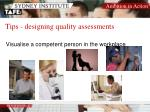 tips designing quality assessments