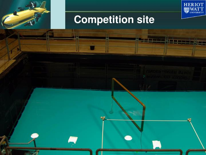 Competition site