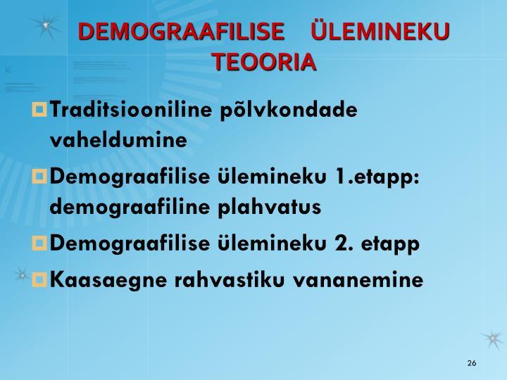 DEMOGRAAFILI