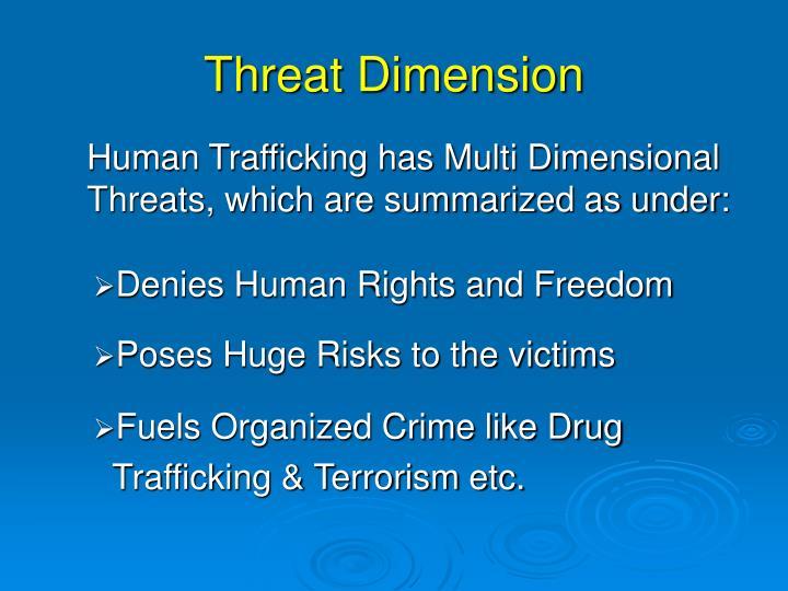 Threat dimension