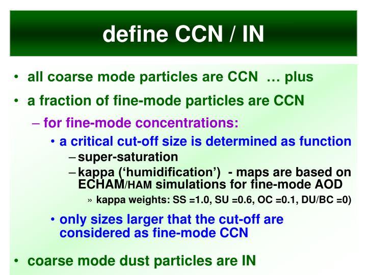 define CCN / IN
