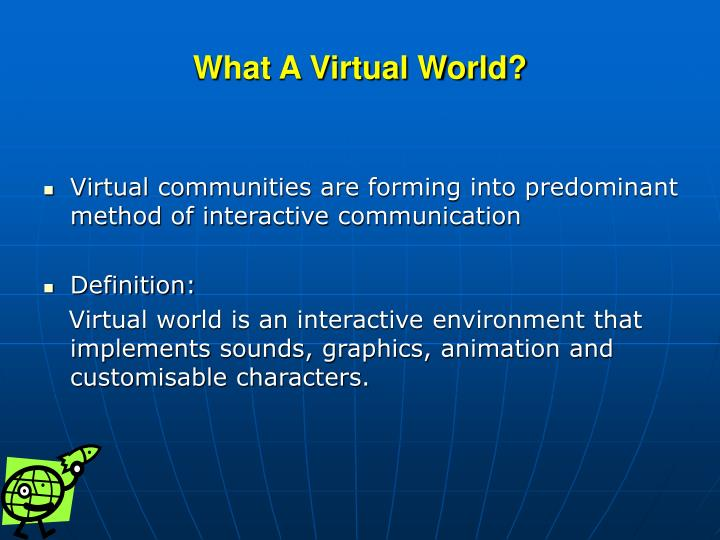 virtual community essay A virtual learning community employs technology to communicate therefore, it can, and does, happen anywhere, and it can be constructed anywhere the idea of construction is central to the notion of virtual communities, as what is created by the community becomes the collective product of its individual members.
