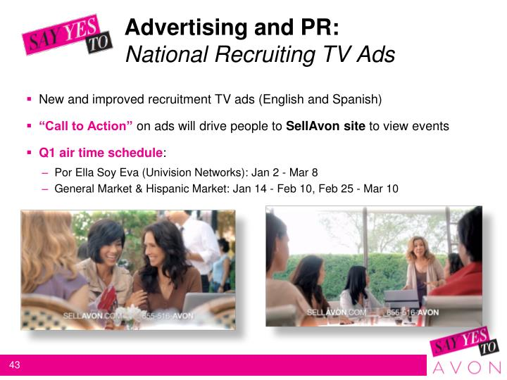Advertising and PR: