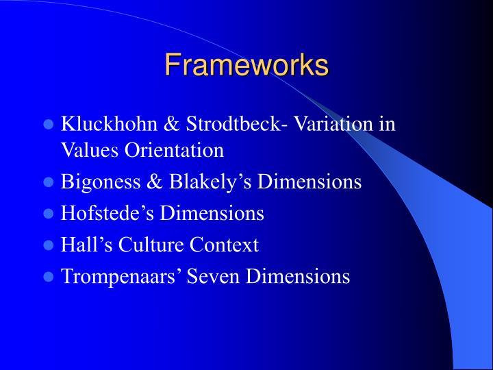 seven dimensions of culture