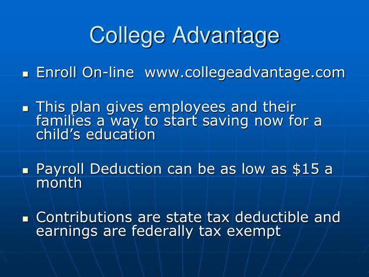 College Advantage