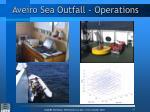 aveiro sea outfall operations