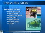 original rov 2000