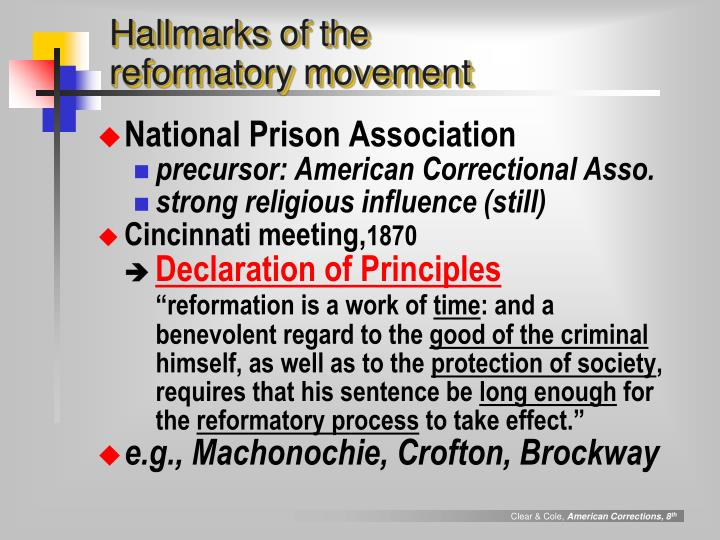 Hallmarks of the