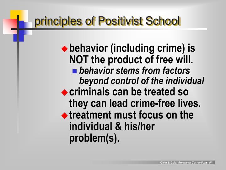 principles of Positivist School