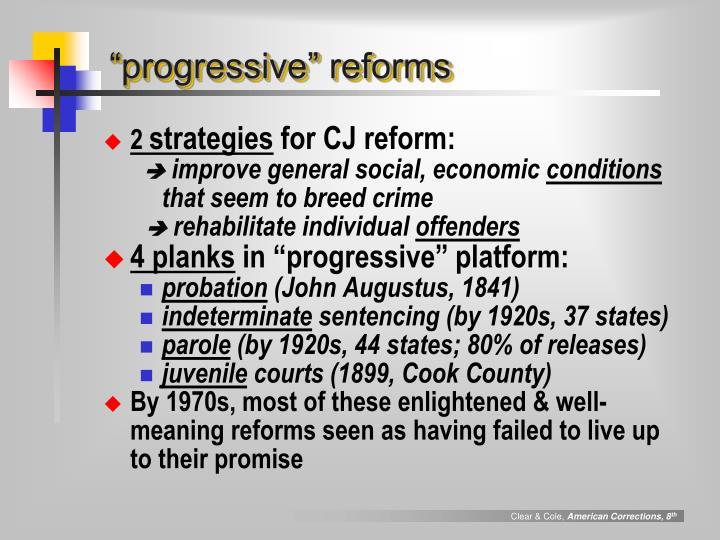 """""""progressive"""" reforms"""