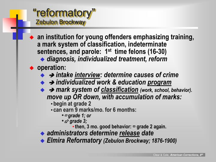 """reformatory"""