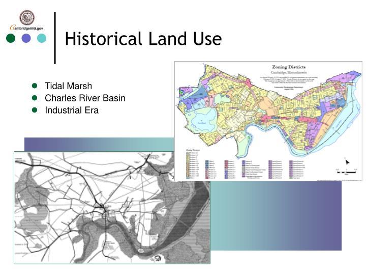 Historical Land Use
