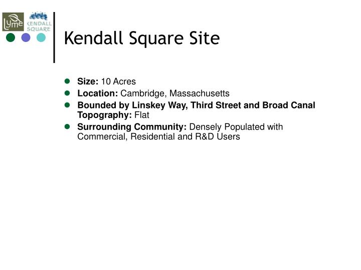 Kendall Square Site