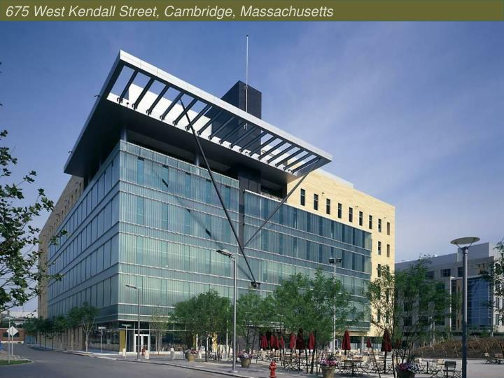 675 West Kendall Street, Cambridge, Massachusetts