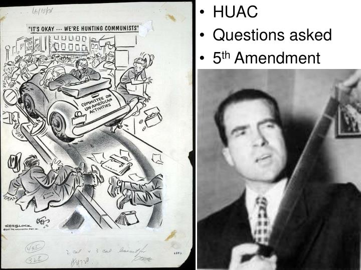 huac and the red scare : the house un-american activities committee opens hearings into communist infiltration of the motion picture industry walt disney, ronald reagan and the fear of hollywood communism.