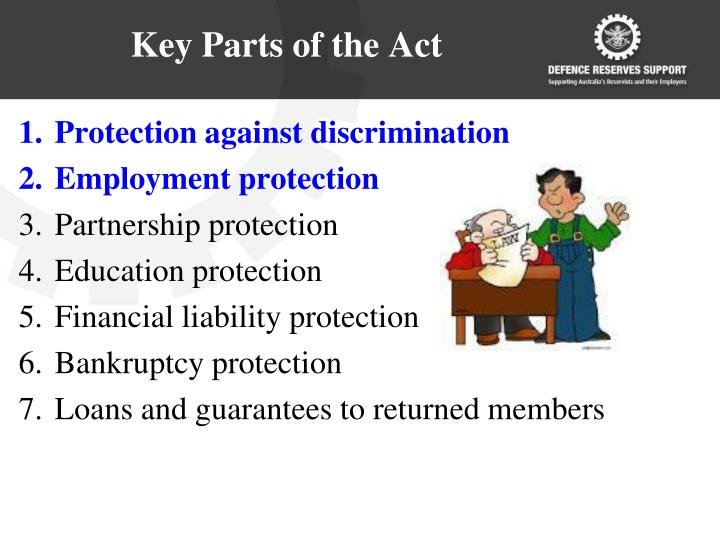 Key Parts of the Act