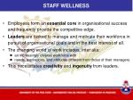 staff wellness