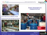 girder manufacture at metalex critical engineering and qa oversight by argonne