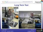 long term test1