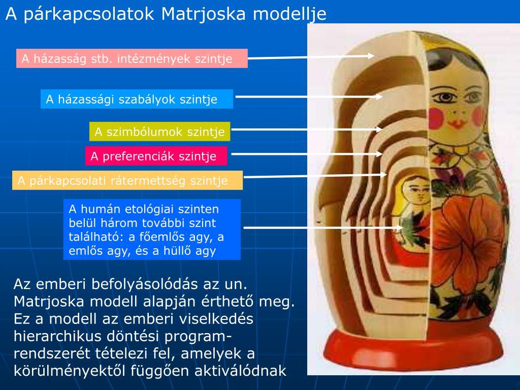 az emberi gyűrű evolúciós modellje