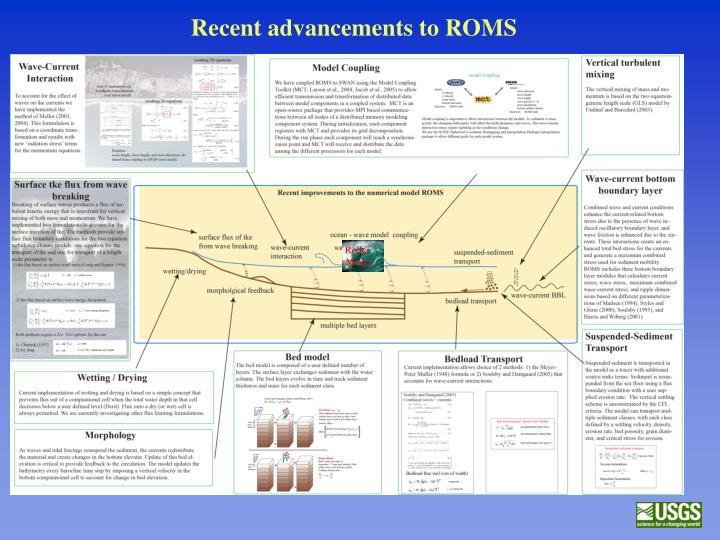Recent advancements to ROMS