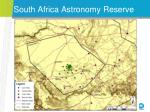 south africa astronomy reserve