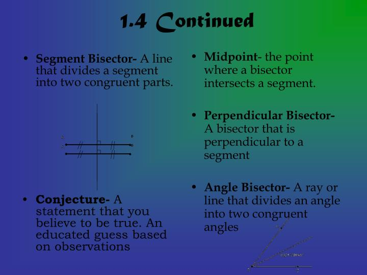 1 4 continued