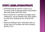 state legislation update1