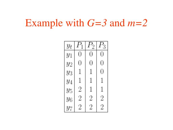 Example with