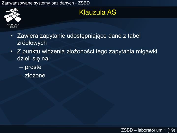 Klauzula AS