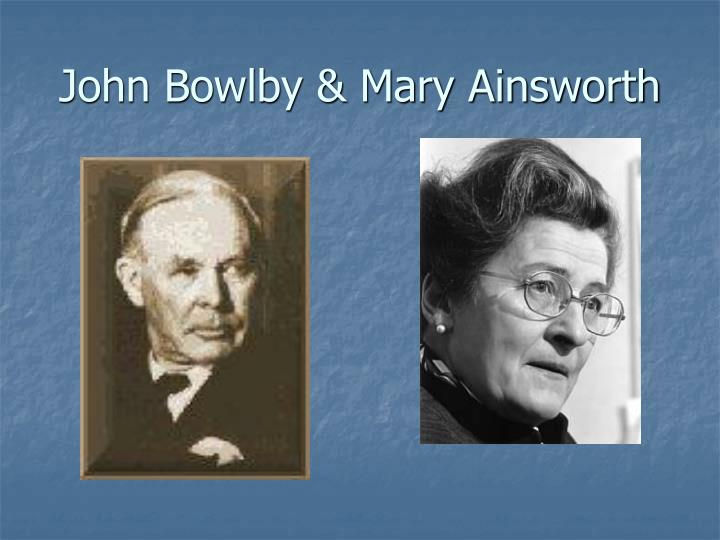john bowlby and mary ainsworth