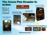the cocoa plan ecuador in action