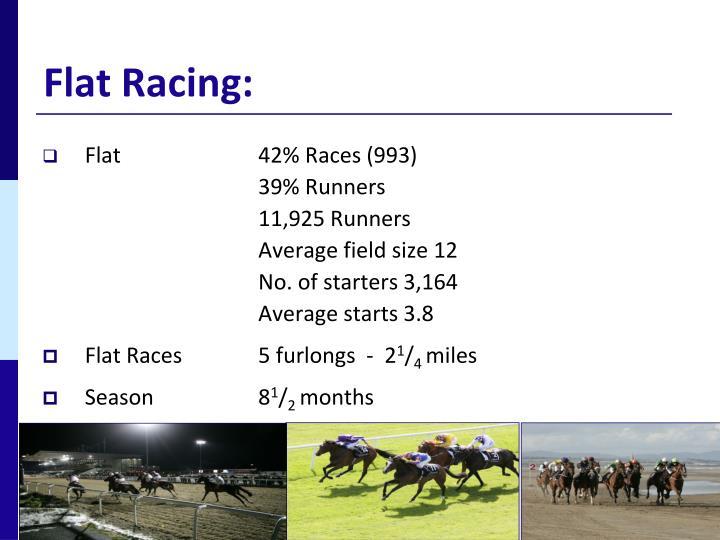 Flat racing