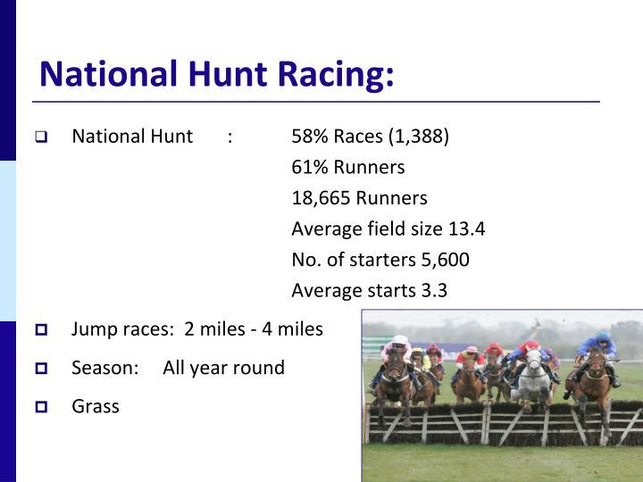 National hunt racing