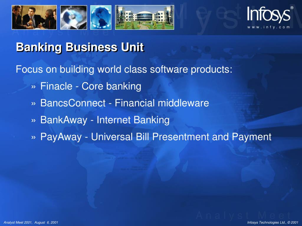 PPT - Banking Business Unit Challenges and Achievements
