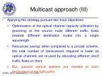 multicast approach iii