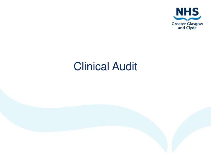 Clinical Audit