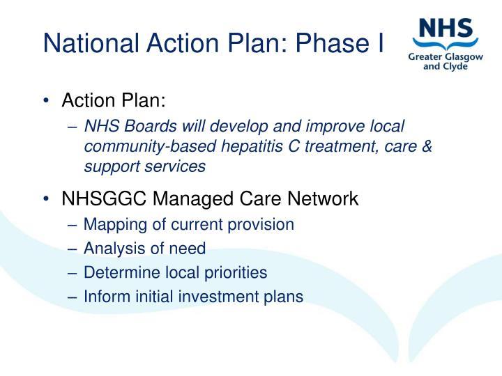 National Action Plan: Phase I