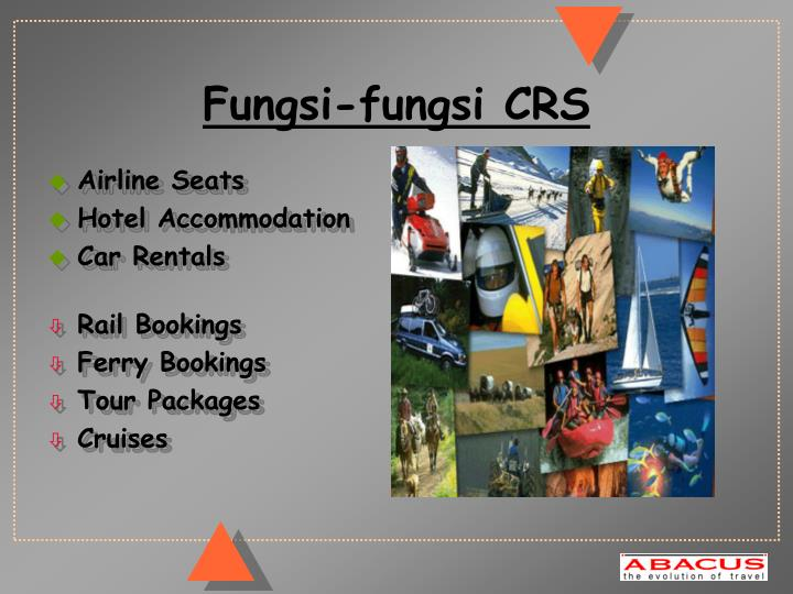 Fungsi-fungsi CRS