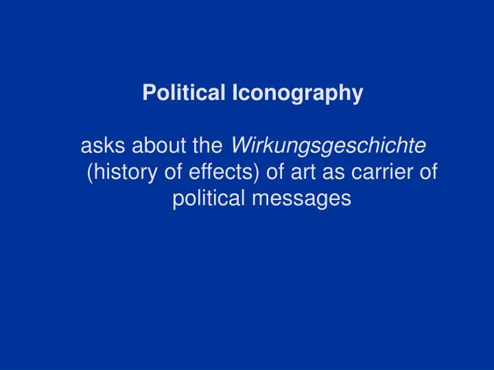 Political Iconography