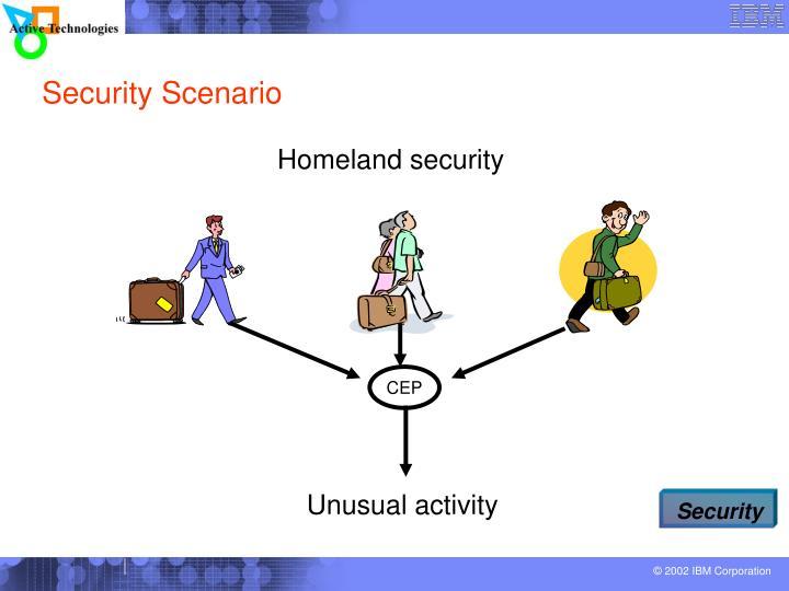 Security Scenario