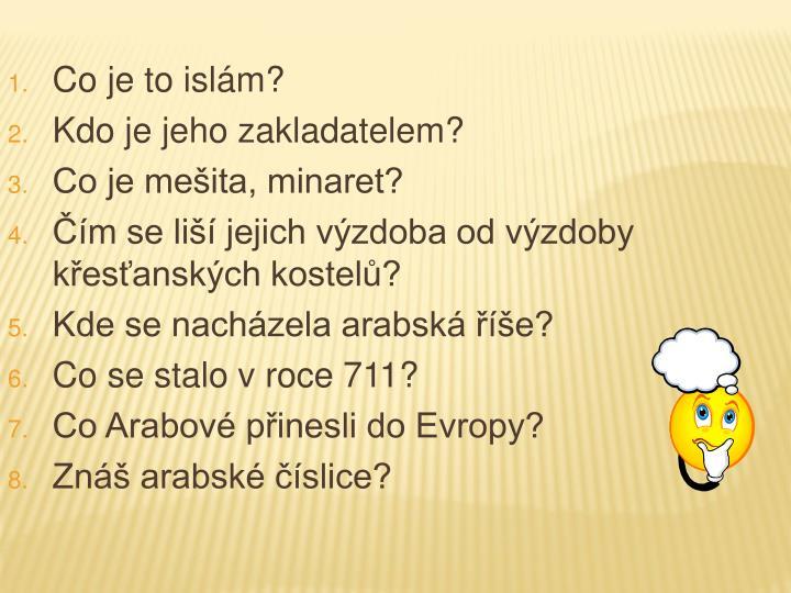 Co je to islám?