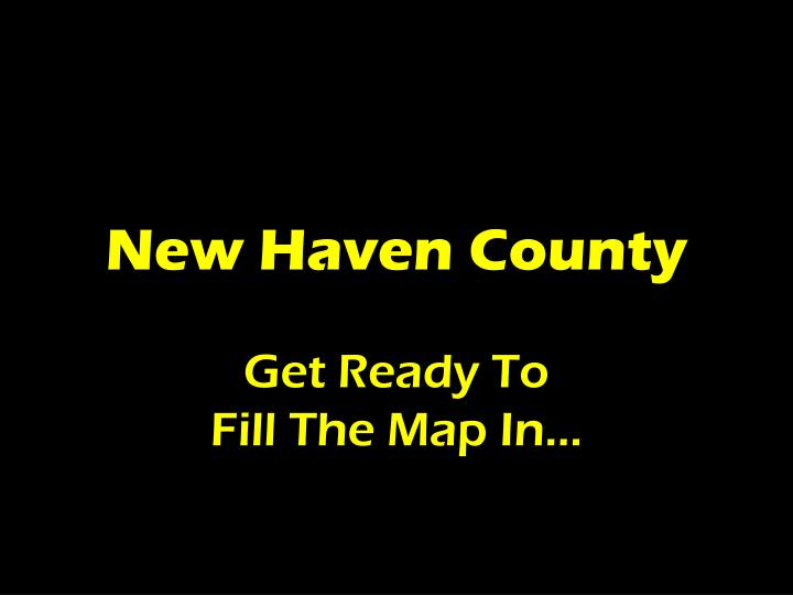 new haven county n.