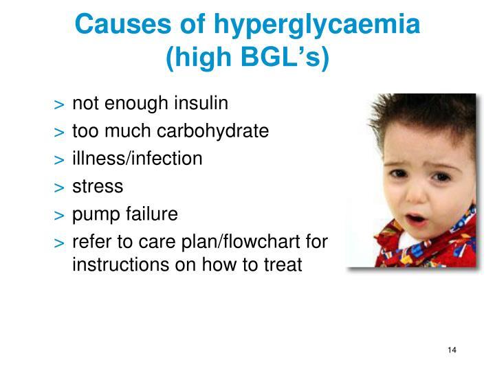 Causes of hyperglycaemia