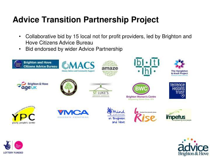 Advice Transition Partnership Project