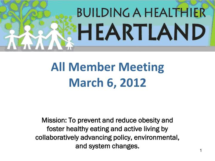 all member meeting march 6 2012 n.