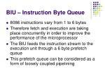 biu instruction byte queue