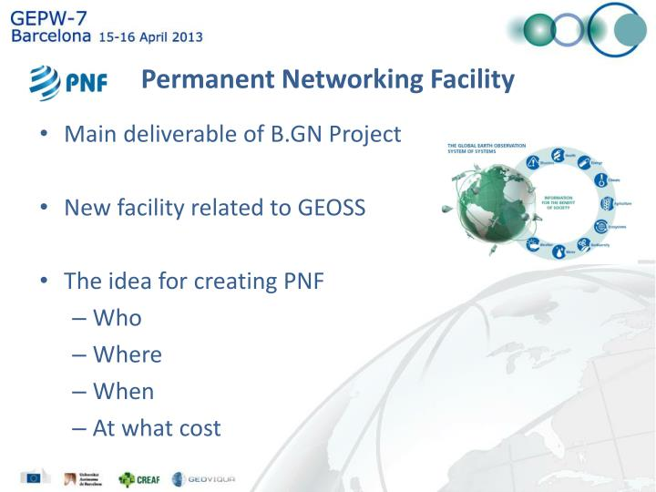 Permanent networking facility