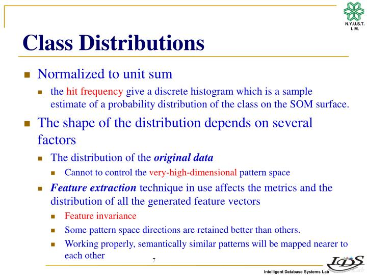 Class Distributions