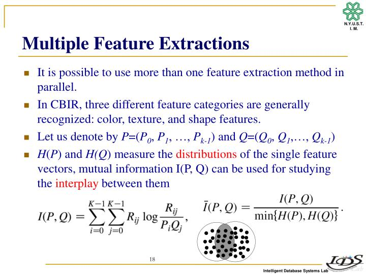 Multiple Feature Extractions
